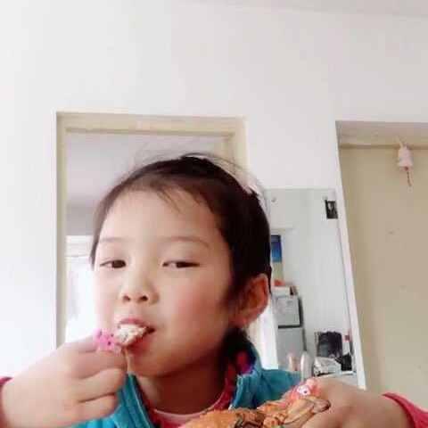 #吃秀#爱情小椒盐-吃秀视频-和大米v爱情的美的发糕视频做法螃蟹图片