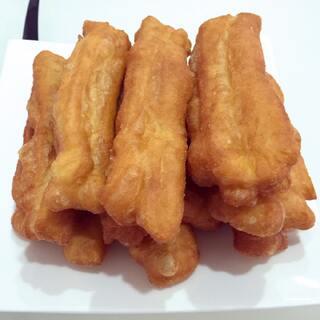 自制安心油条,#吃秀##点心##美食#第一次做,口感超好的😍😁😁
