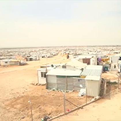 欢迎来到扎塔里难民营!