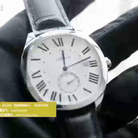 【蜗牛名表视频评测美拍】最高版本卡地亚新款枕形男士腕表...