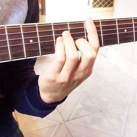 #科普##吉他吉他##指法初学者#有人问我说F怎视频自拍图片