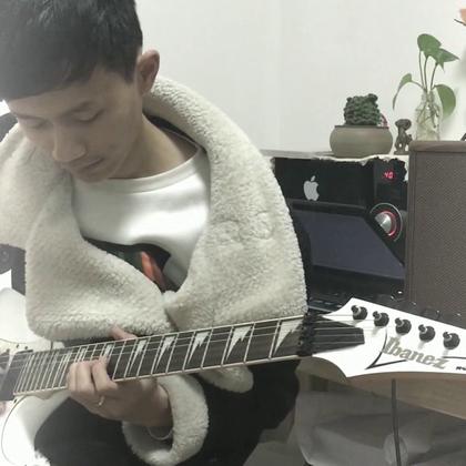 伤感的#电吉他#曲《永远之后》#U乐国际娱乐#记录一下学生目前的水平。