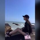 #穿秀##带着美拍去旅游##女神#一起来来看海。坐标崇武古城🌀🌀@高颜值频道官方号 @美拍小助手 @时尚频道官方账号