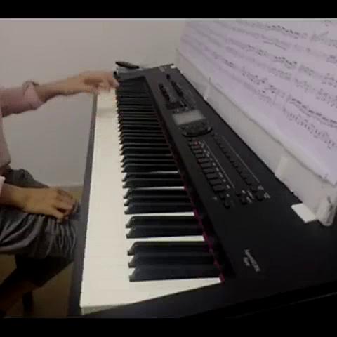 摩西变奏曲,大提琴曲改编钢琴独奏 自扒谱 改编 制谱,花了5 音乐视