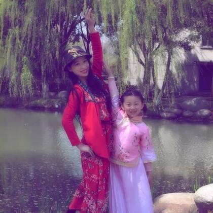 #第一个美拍##穿秀#春风又绿江南岸