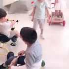 #宝宝##混血宝宝##中德混血果冻#拍摄是一群男孩子 除了果冻一个小女生 😅😅😅😹