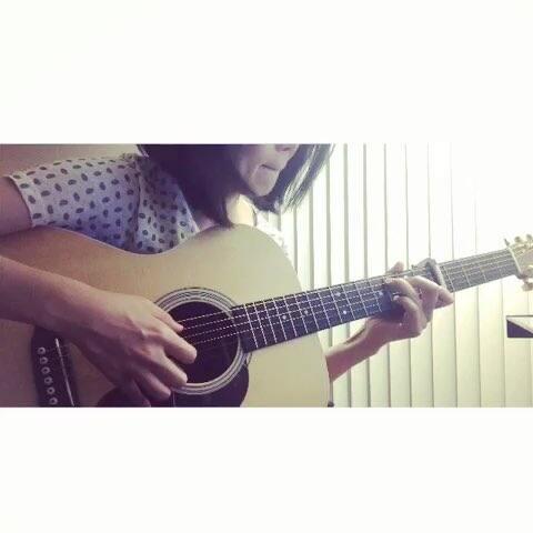 音乐 吉他弹唱 ??我的父亲只爱写打油诗 音乐视频 乐乐姐 的美拍