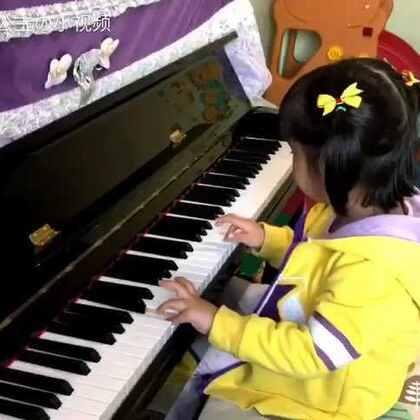 4岁弹奏 《小星星》#钢琴##宝宝#
