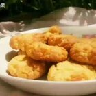 【香酥蛋黄饼干】#我的烘焙食光#这款香酥蛋黄饼干非常:好吃酥脆,颜色也特别漂亮,因为加了蛋黄黄油#美食#