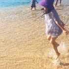 玩水总是最开心😄#宝宝##糖小希#