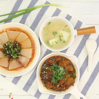家常冬瓜3种吃法,每一种都超简单美味!#魔力美食##美食##吃货#