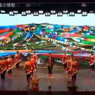 西华师范大学雪域锅庄协会五周年庆文艺汇演雪域青春体操舞#藏舞##广播体操#😘