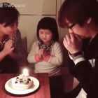 寶貝今天生日^_^希望妳天天開開心心快樂長大~