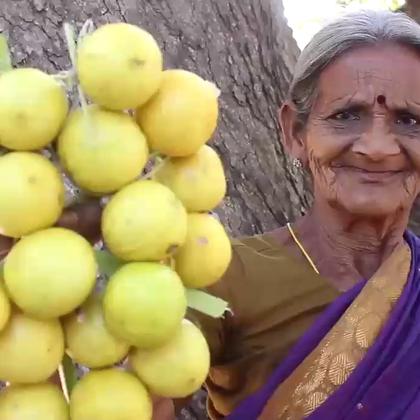 印度老奶奶做柠檬酱,放了好多辣椒粉,又酸又辣.你是不是也很想吃啊!😃😃😃
