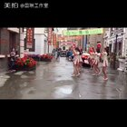 🌺海棠经雨胭脂透,啦啦操来一组。节日快乐。💓