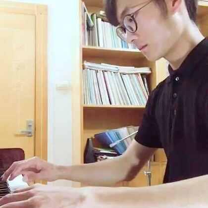 走在冷风中 钢琴#音乐#