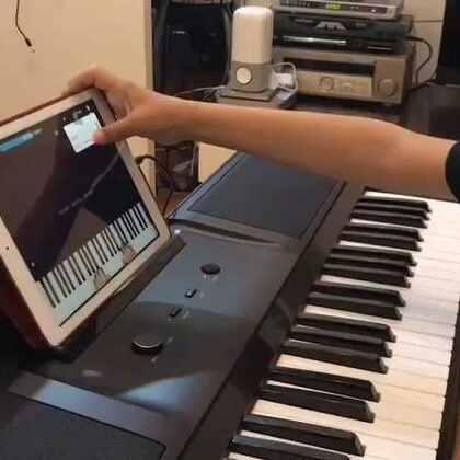 The One智能钢琴弹奏《天空之城》-爱搞笑的小麦的美拍