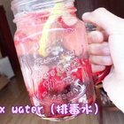 detox water(排毒水)?喝起来还不错??挺清爽的?夏天放几个冰块??真的特别棒呢!(mf@厨娘物语c小鹿 )?午好?#手工#