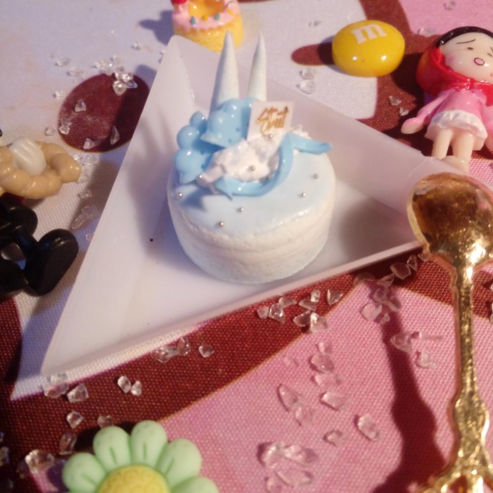 幼儿手工粘土做蛋糕步骤图片