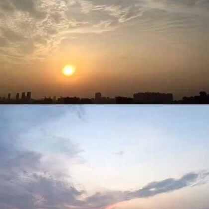 揭阳的日落#手机摄影##延时摄影##iphone延时摄影# 器材:iPhone6s