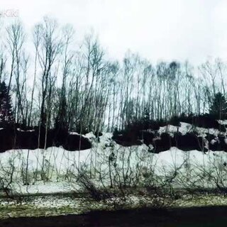 前天从洞爷湖往札幌的路上,一路很多雪❄️还没融合,但是这边人穿的都是秋装,穿羽绒服的都是游客😂#北海道旅行#