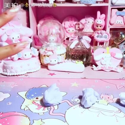 #手工#好喜欢这款淡紫色蛋糕!么么毛爱你们记得找姐姐订制福箱哦!粘土订单也接了哦! 依依姐杂货铺👑 https://weidian.com/s/168133696?wfr=c&ifr=shopdetail