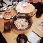 #吃秀##直播吃饭#直播吃东西##韩国美食#今天吃的 三文鱼生鱼片 炸章鱼和炸鸡 还有生肉拌饭😝😝😝太好吃了😝😝😝