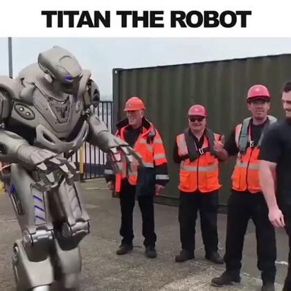 感觉完全就是科幻片里的机器人唉#玩转科技#