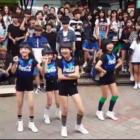 【PRITTI美拍】#舞蹈##PRITTI#弘大街头表演 《O...