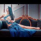 莫非这是从古老的埃及神话里穿越过来的宫廷女神?#单色舞蹈肚皮舞#