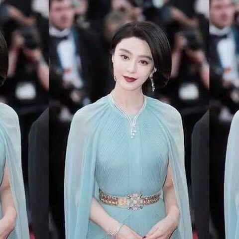 【-IF时尚-美拍】范冰冰李宇春戛纳红毯造型不错,...