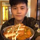 #烤鸡厨房#小猪猪最美好的归宿——咖喱猪排饭 新浪微博👉http://weibo.com/u/1897509683 👈点关注不迷路💘 #美食#