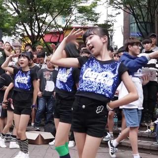 [16.09.10]#舞蹈##PRITTI#Gfriend《NAVILLERA》DanceCover弘大跳舞的熊街头公演😀