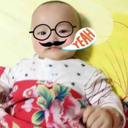 #宝宝成长记录#4M12d、动个不停#家有萌娃#@万种柔情🐾 @玩转美拍