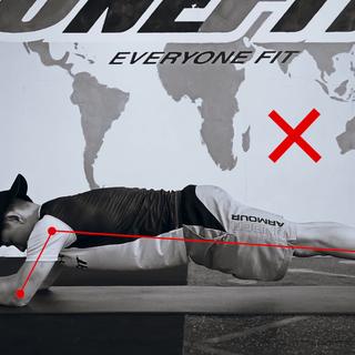 #平板支撑# 用正确的方式健身,教你如何做好平板支撑!#健身教程#@neFit健身学院