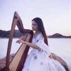 #音乐##女神##竖琴#青花瓷🎼出来拍外景好累啊,还不快给我小爱心?😂