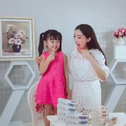五岁那年拍的片仔癀牙膏广告的花絮 #宝宝#魏艺萱