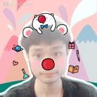 #全民红鼻子#快来和蛋蛋一起萌拍吧!