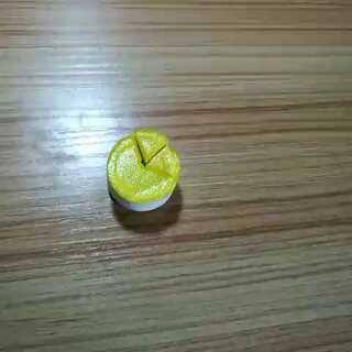 #粘土切蛋糕##黄色系##装饰盒子##蓝色系#嘿嘿切废了😂