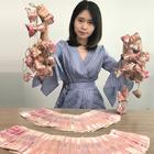 小野端午节发钱粽子,同事瞬间疯狂,粉丝也有份!#搞笑##钱粽子##端午节#