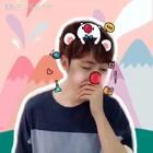 #全民红鼻子#Pino真是萌帅!哈哈哈哈