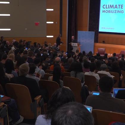 秘书长古特雷斯5月30日在纽约大学演讲指出,气候变化不可否认,那些不能实施绿色经济的国家将会生活在灰色的未来之中。