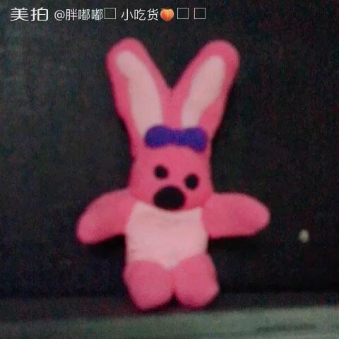 彩泥~小兔子