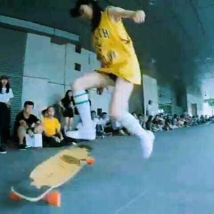 #武汉福禄长板##长板dancing##长板女孩#现场视频剪辑,比赛跟平时玩差别好大,一比赛就完蛋哈哈哈😂