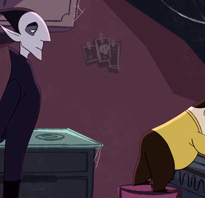 搞笑动画短片《吸血鬼和推销员》😃😃😃