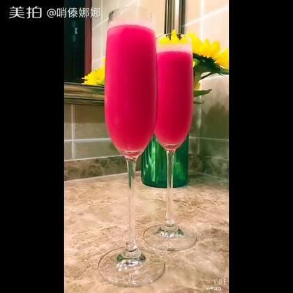 这么热的天,来两杯冰镇西瓜汁吧🍉🍹#自制西瓜汁#