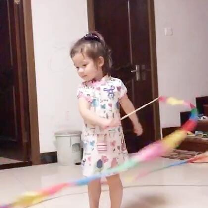 #annie环游记#在中国🇨🇳回国后连玩的玩具都接地气了😄#宝宝#
