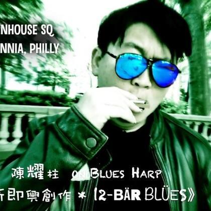 🎵🎸🇺🇸费城《布鲁斯口琴 即兴创作 • 12-bar Blues》🤘🏻😎🤘🏻 #音乐##口琴##布鲁斯口琴# 🎹