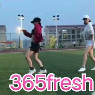 #舞蹈##金泫雅& triple h - 365 fresh##敏雅舞蹈#和我的小仙女的365