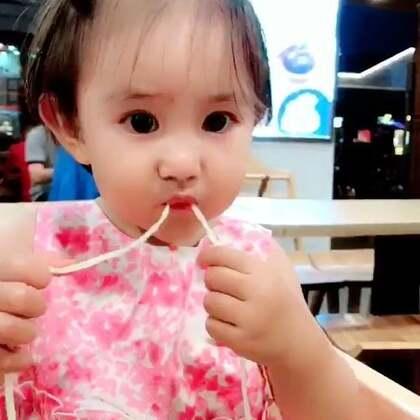 杭州步行街的面条🍜好吃啊。亮眼睛#宝宝#